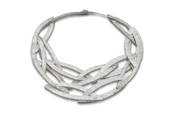 Emanuela Duca Doha Collection silver necklace