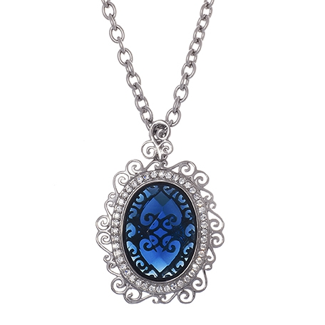 Lusciouss International siren blue pendant