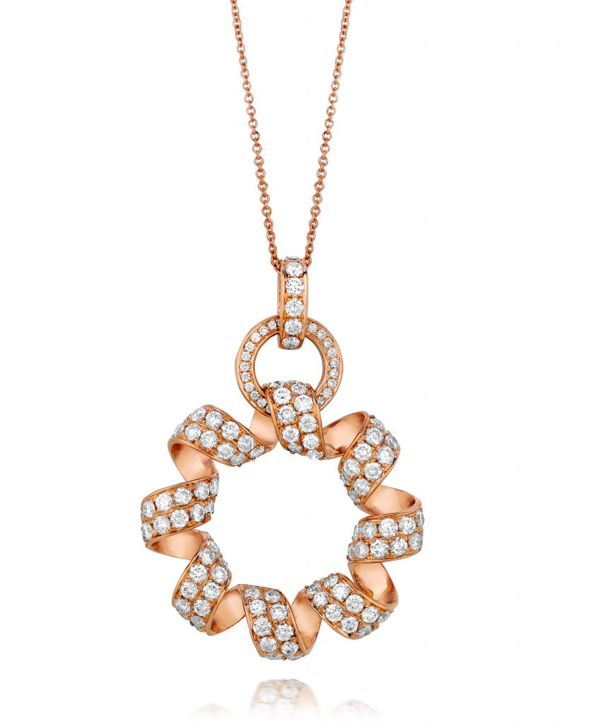 Le Vian Couture Strawberry 'N Vanilla™ Sinuous Swirl Pendant