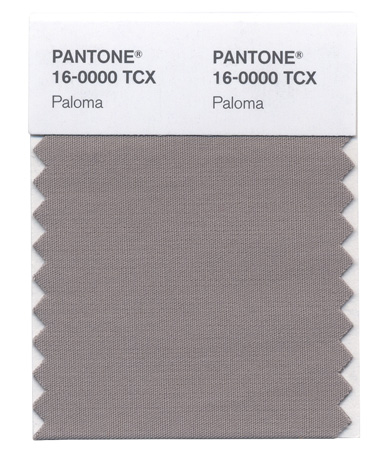 Pantone's Paloma color