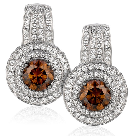 Le Vian Couture Chocolate Diamonds earrings