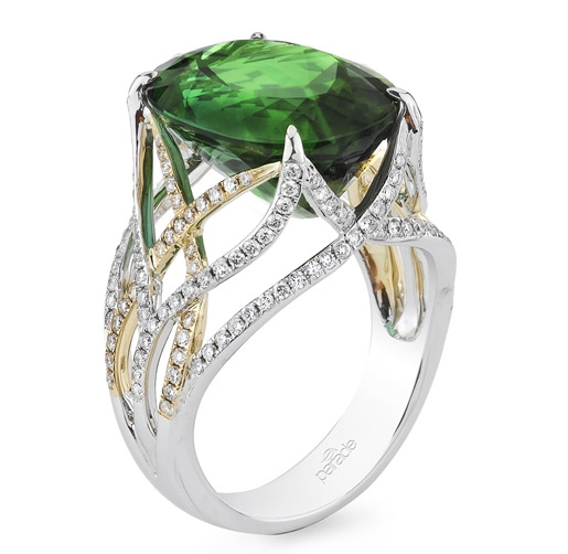 Parade in Color green tourmaline ring