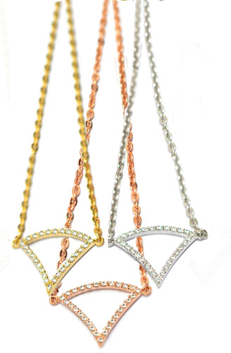 Babette Wasserman London tricorn necklaces