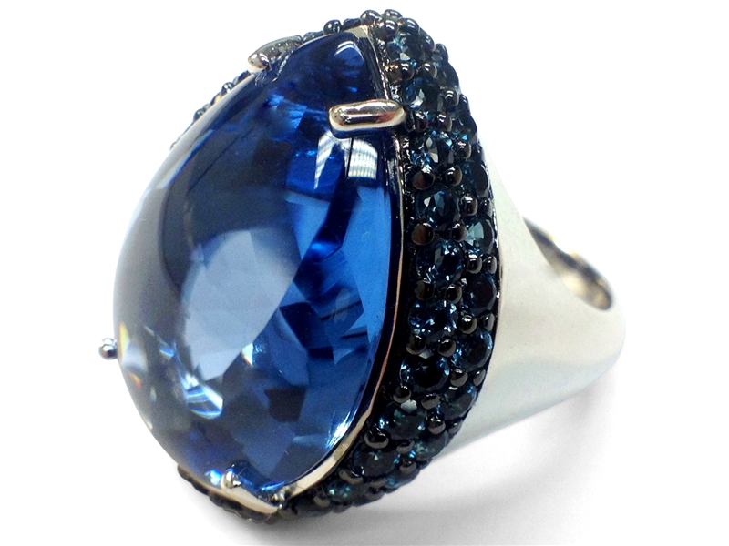 Raymond Hak Couture Rock Candy ring