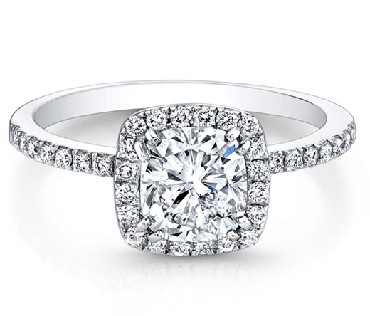 Natalie K for Forevermark diamond engagement ring