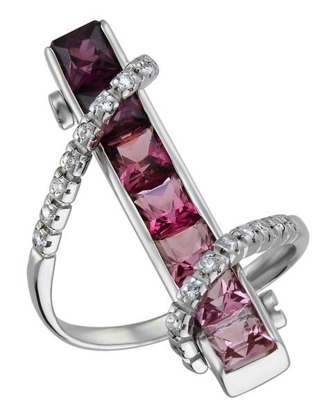 Drukker Designs ombre tourmaline ring