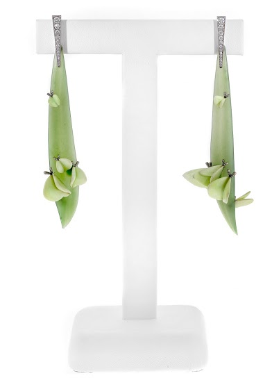 Springtime earrings by Gregore Morin 3rd Place Business/Day Wear AGTA Spectrum