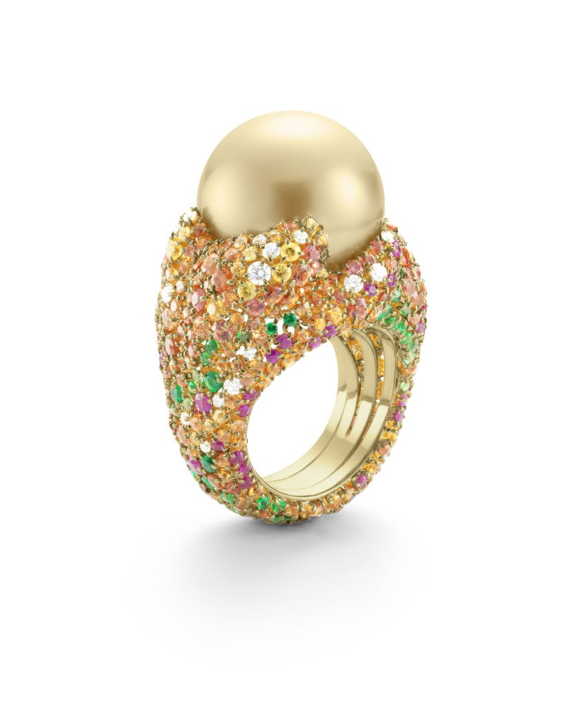 Mikimoto Four Seasons Autumn ring