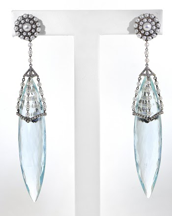 Cynthia Bach earrings Bridal Wear Honorable Mention AGTA Spectrum