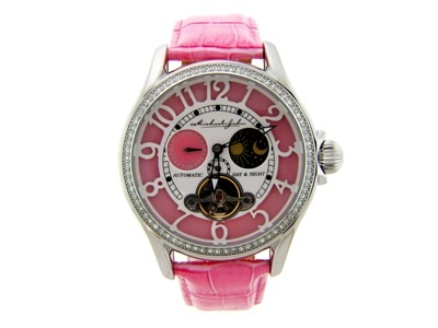 Sales of Michael John Jewelry's Pink Watch supports breast cancer research