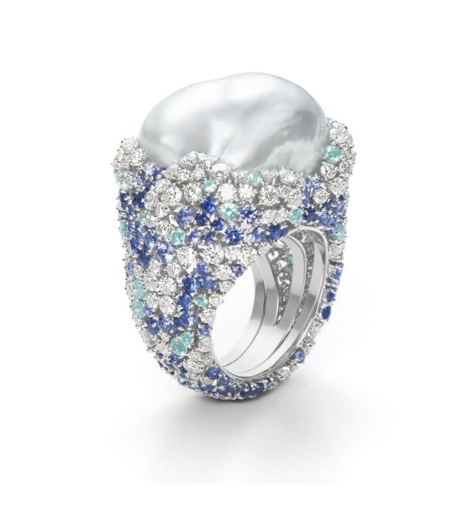 Mikimoto Four Seasons Winter ring