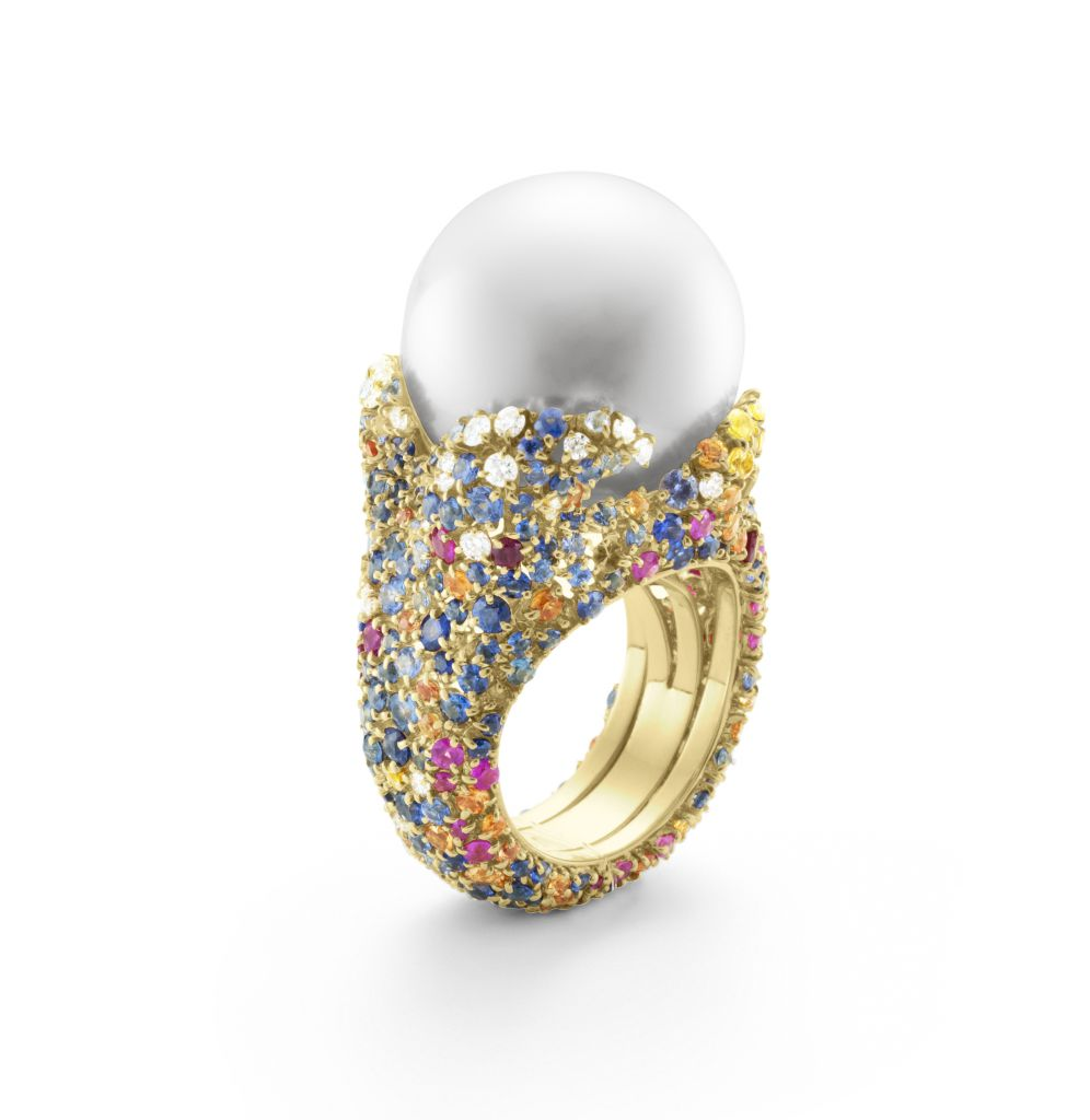 Mikimoto Four Seasons Summer ring