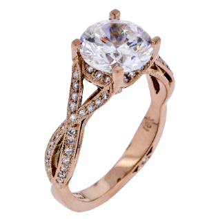 Rose Gold Ring by Tacori