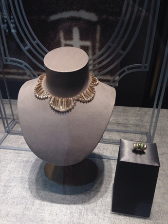 Scalloped necklace at Cartier
