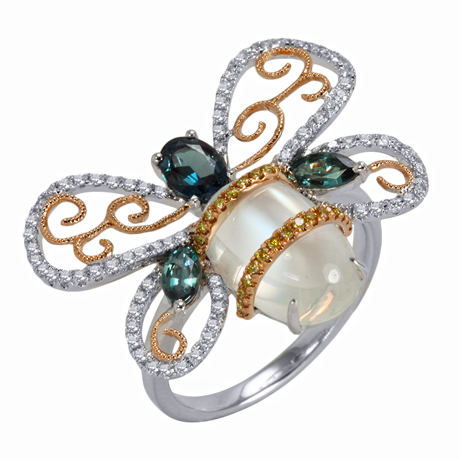 Bee ring from Laura Medine