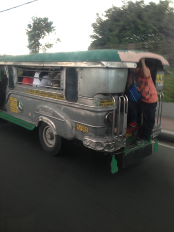 Those funky looking shared buses in Manila!