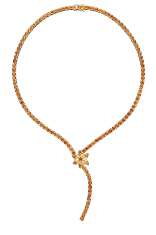 Orianne Collins necklace with citrine