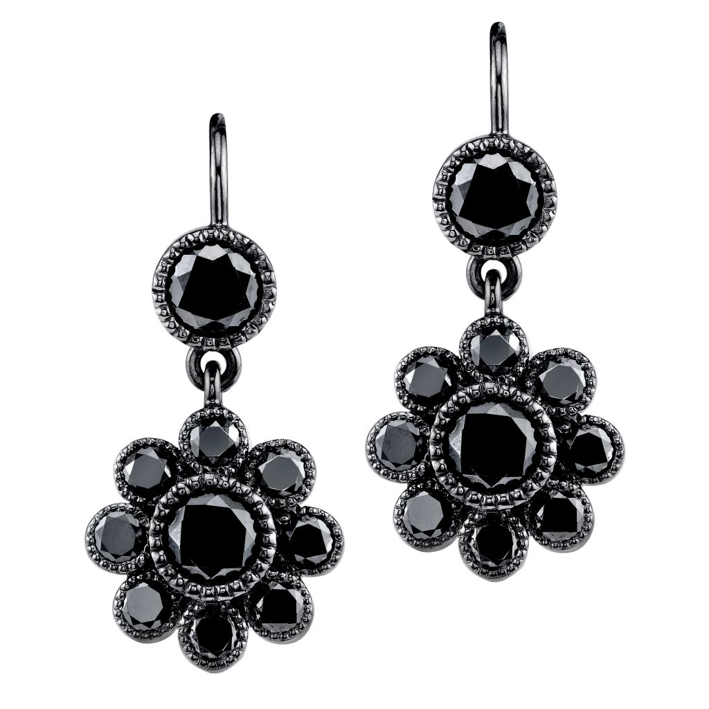 Katharine James Vogue Noir earrings