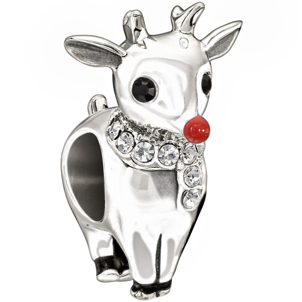 Chamilia Rudolph holiday 2013 bead