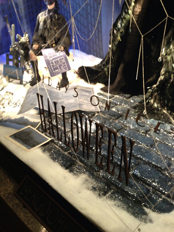 Windows at Bergdorf Goodman celebrated a bevy of holidays