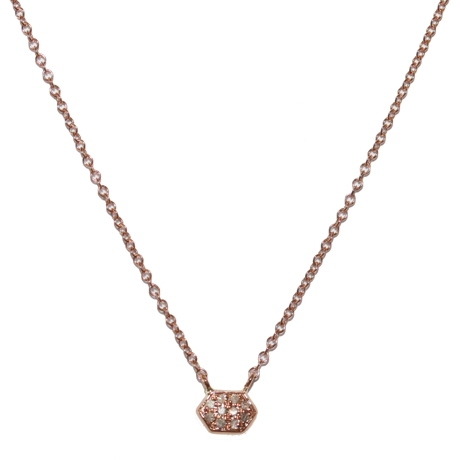 Meredith Marks gold diamond-accented necklace