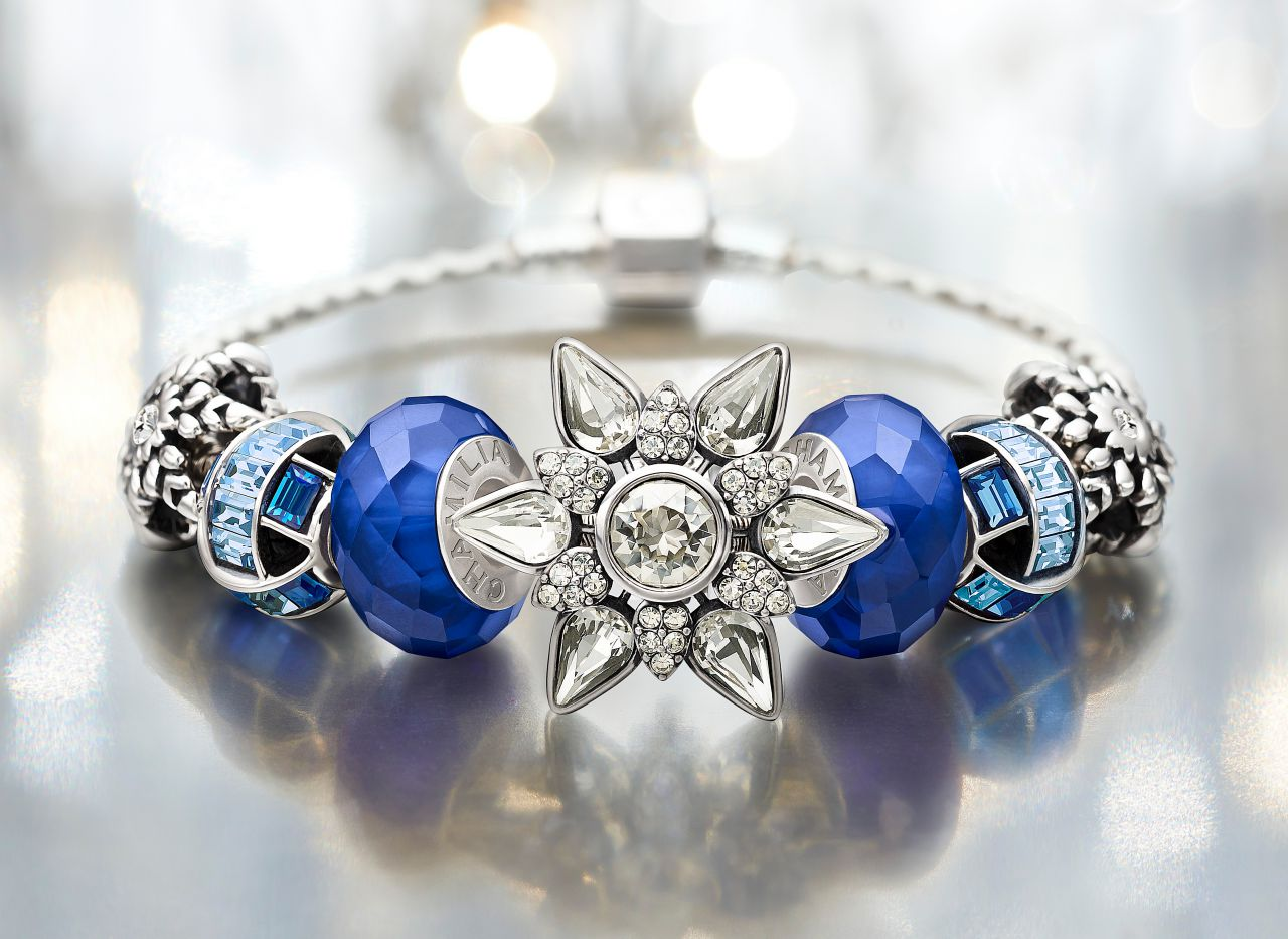 Chamilia blue holiday 2013 bracelet