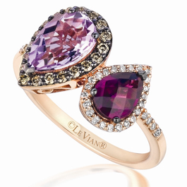 Le Vian Chocolatier Cotton Candy Amethyst ring