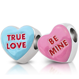 Persona candy hearts beads