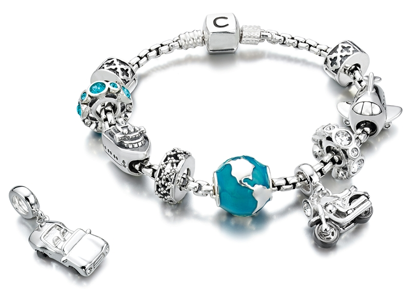 Chamilia Travel collection beads and charms