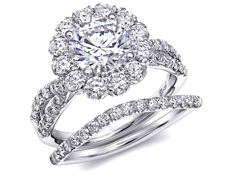 Coast Diamond Charisma collection engagement ring