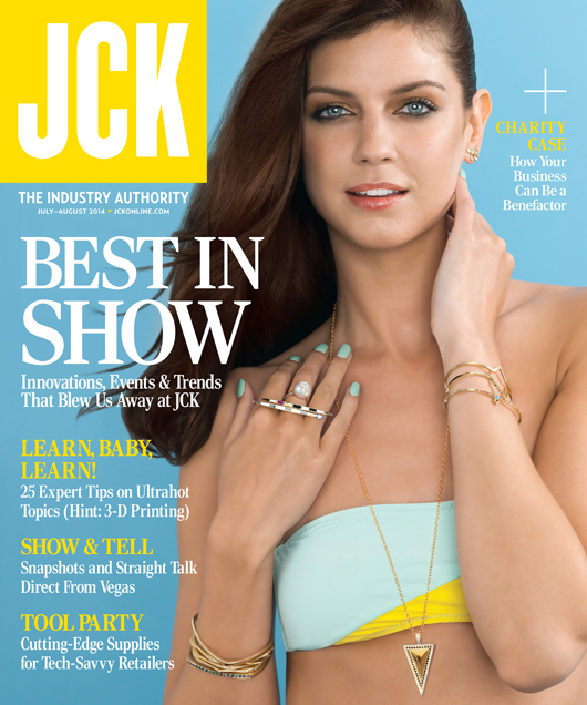 JCK July/August 2014 cover