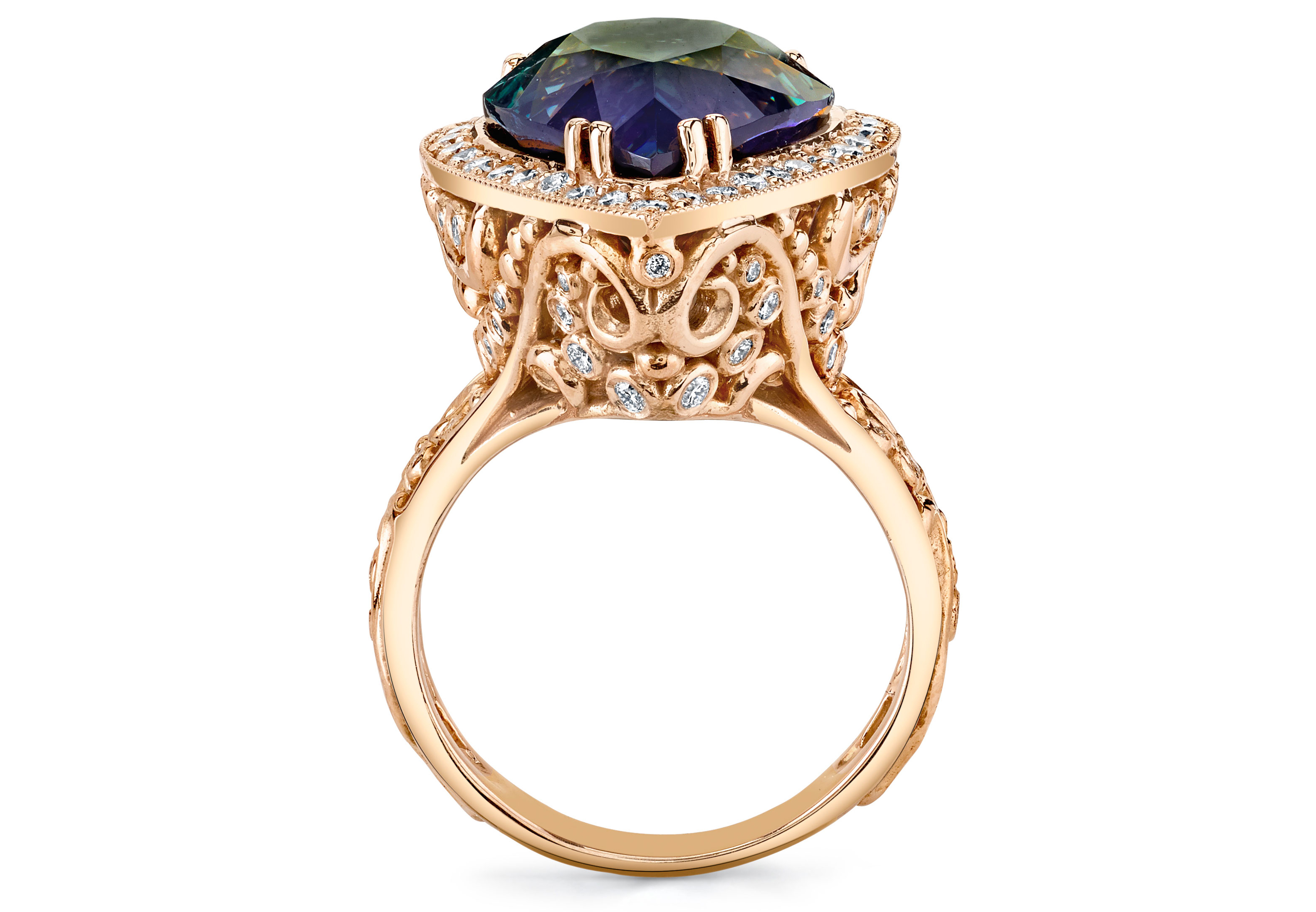 Britt s Pick Dallas Prince s Twilight Tanzanite Ring JCK
