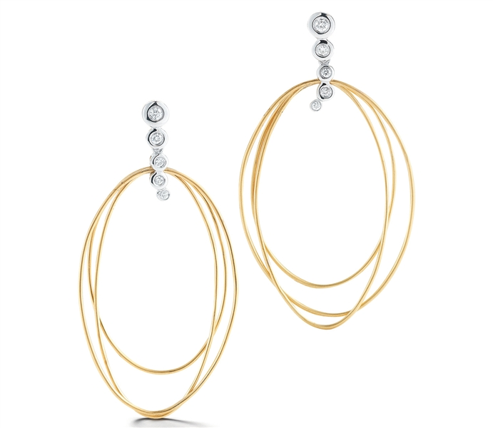 Dana David Scribble collection Thompson earrings