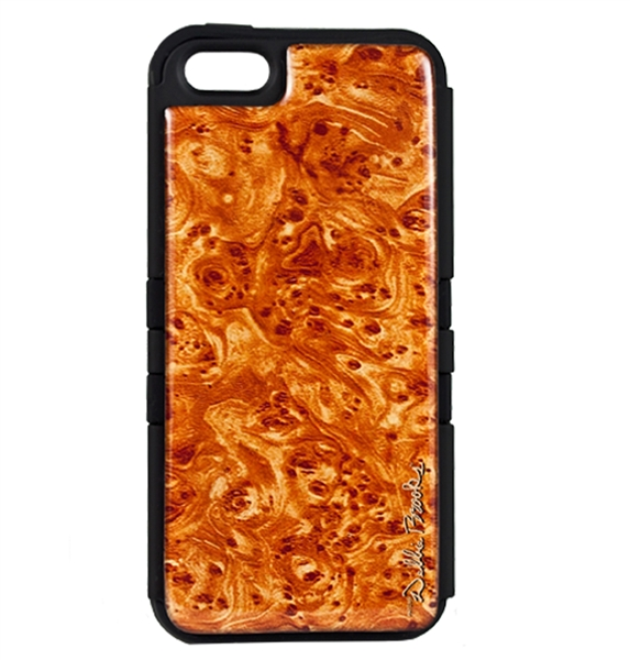 Debbie Brooks burl wood Tuff phone case