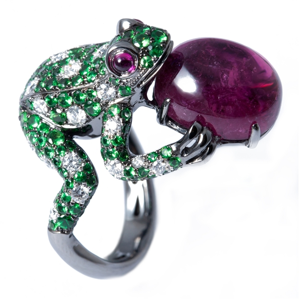 Aspire Design's Wild at Heart Frog Ring