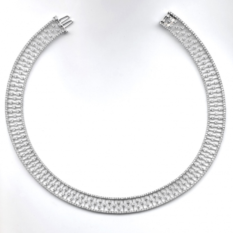 N.E.I. Group's diamond choker