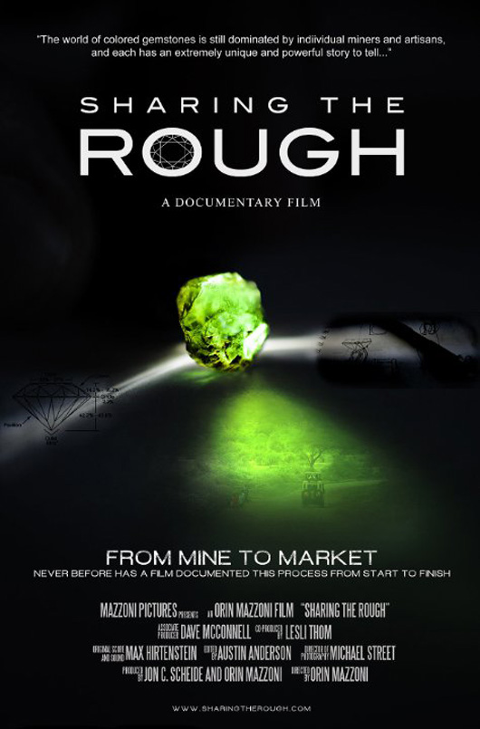 Sharing the Rough documentary by Orin Mazzoni