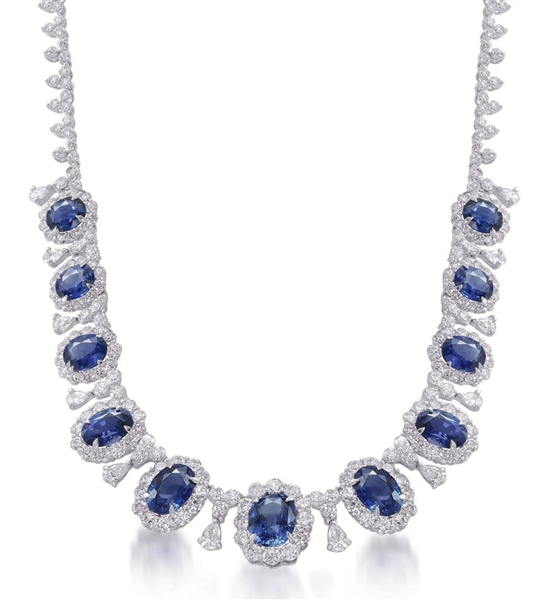 Jewels by Jacob sapphire and diamond collection