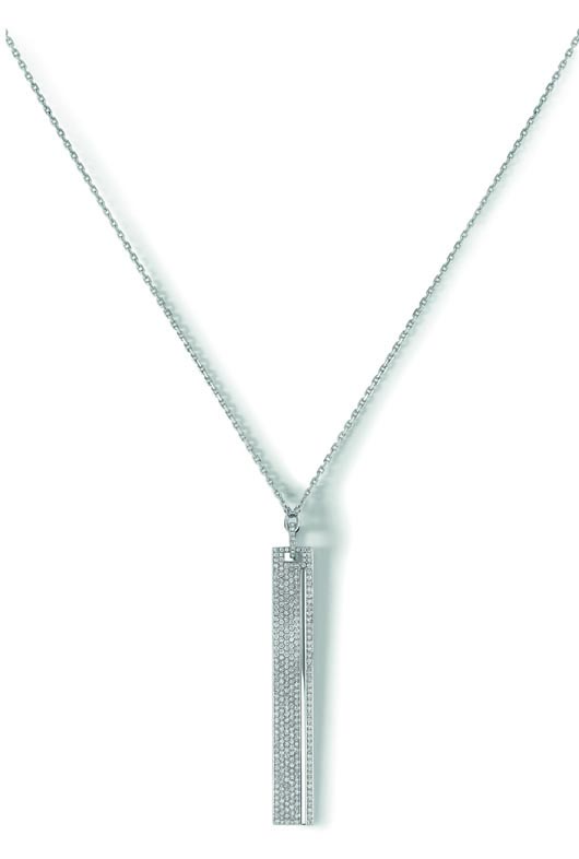 Kate pendant necklace in 18k gold with diamonds from Messika