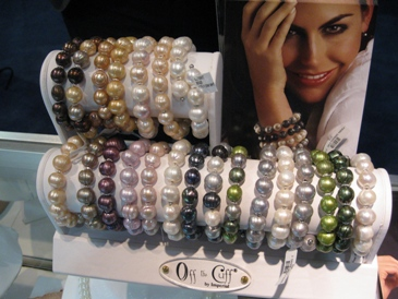 Imperial Pearl's Off the Cuff Chinese freshwater pearl bracelets.