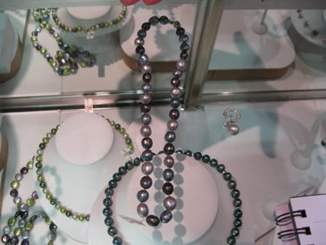 Imperial Pearls interchangeable necklaces.