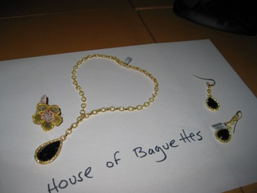 Diamond Jewelry from House of Baguettes.