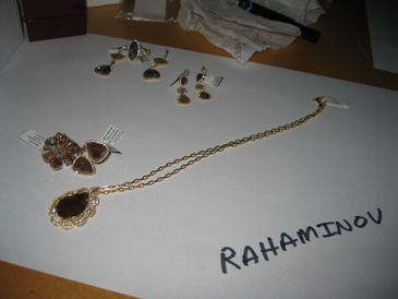 Diamond jewelry from Rahaminov.