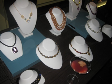 Jewelry at the Annual JIC Editor Luncheon in New York.
