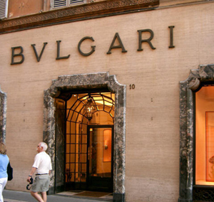 Bulgari flagship in Rome