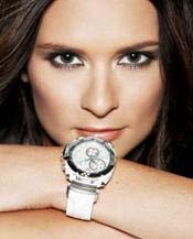 Indy race car driver Danica Patrick and the Tissot T-Race Danica Patrick watch