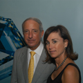 Louisiana jewelers Lee Michael Berg and Brenda Berg at GIA's 75th Diamond Anniversary Gala