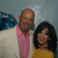 Ruth Ko, editor-in-chief of Orange Coast magazine, with her husband, Michael Roston, at GIA's 75th Diamond Anniversary Gala