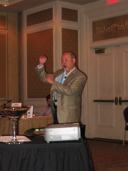 Abe Sherman, CEO, Balance to Buy, speaks about inventory management at JCK Las Vegas.