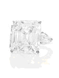 The 32-carat emerald-cut Annenberg diamond.